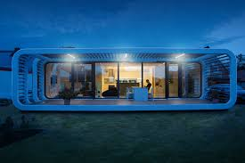 digital trends coodo futuristic tiny houses come with high tech