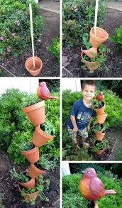 Herb Garden Pot Ideas Top 30 Stunning Low Budget Diy Garden Pots And Containers