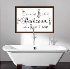 Wall Transfers For Bathroom Bathroom Sayings Decal Bathroom Wall Decal Murals Primedecals