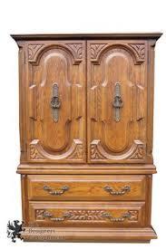 Sumter Bedroom Furniture Sumter Cabinet Co 1970s Distressed Oak Bedroom Nightstand Carved