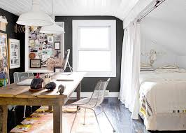 Apartment Living Room Office Combo Home Tour A Country House Goes Industrial Americana Coco