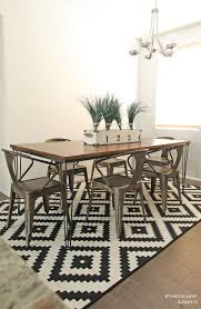 pneumatic addict large hairpin dining table