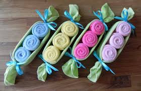 baby washcloth pea pod unique baby shower gifts and favors