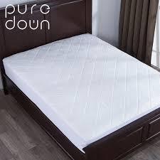casa materasso puredown casa materasso in schiuma di memoria pad protector bed