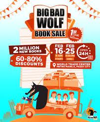 big bad wolf book sale book are going loco philippine primer