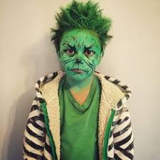 Grinch Halloween Costume Cool Homemade Halloween Costume Grinch Stole Christmas