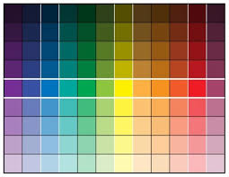 shades of color purple icing color theory and a color chart lilaloa icing color theory
