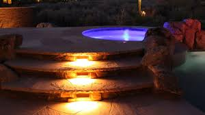 Custom Landscape Lighting by Outdoor Landscape Lighting Design With Led And Bulb Fixtures