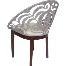Rattan Accent Chair New Pacific Direct 1040002 Ambrosia Round Back Rattan Accent Chair
