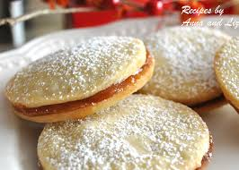 christmas cookies butter cookies filled with