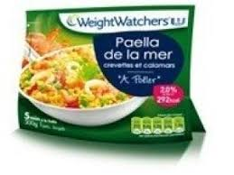 plat cuisiné weight watcher plat cuisiné numéro 3 paëlla de la mer weight watchers par