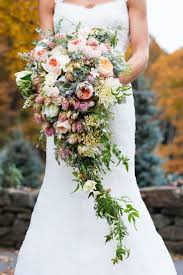 brides bouquet a lush cascading bridal bouquet chic vintage brides