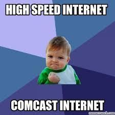 Comcast Meme - internet