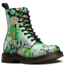 womens black combat boots target dr martens slime floral pascal dr martens floral dr martens and