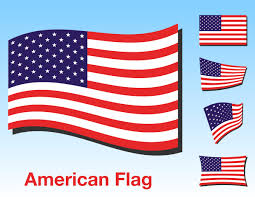 Ripped American Flag American Flag Clipart Simple Pencil And In Color American Flag