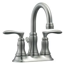 Westbrass Faucet Westbrass 4 In Centerset 2 Handle High Arc Bathroom Faucet In