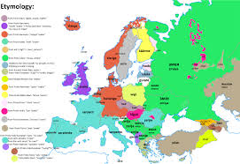 map of europr languages of the european union arresting map europe in