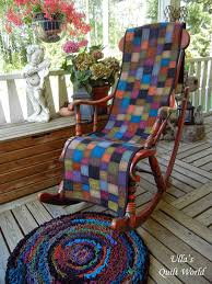 Quilted Rugs Rocking Chair Cover And A Rug Tutorial Quilting Ulla U0027s Quilt