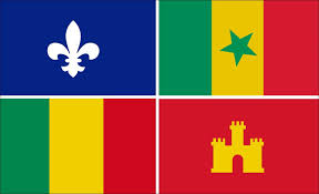 French And American Flags Amazon Com Creole Flag Sticker Louisiana Cajun Orleans French
