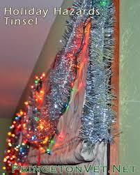 holiday hazards tinsel