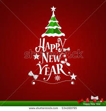 merry happy new year greeting stock vector 531792790