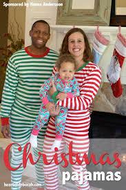 family pajamas of deborah