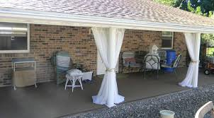 Patio Curtains Outdoor Back Patio Curtains For 10 Hometalk