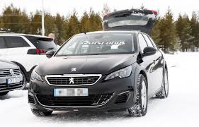 peugeot 408 wagon this peugeot 308 sw mule is hiding the new 508 underneath