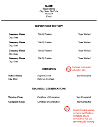 Easy Resume Builder Resume Templates