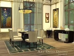 Art Deco Dining Room Set by Shinokcr U0027s Art Deco Dining