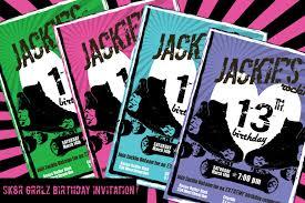 14th birthday party invitations free printable roller skating birthday party invitations mickey