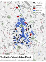 Boston Neighborhood Map by Maps Dudley Neighbors Inc