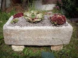 water trough planter pondless waterfall use water features to increase garden home u0027s