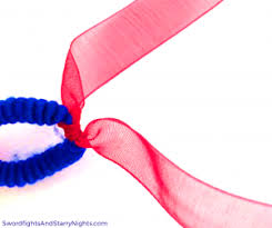 hair ribbons fireworks hair ribbons patriotic white blue 4th of july