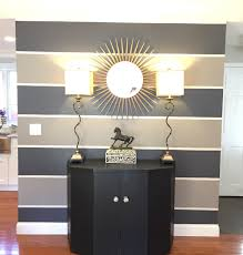 Accent Wall Rules by Striped Accent Wall Benjamin Moore Balboa Mist Oc 27 Small