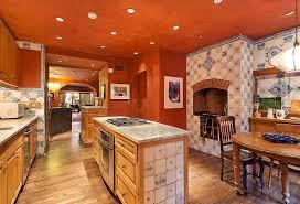 Orange Kitchens Ideas 50 Mediterranean Style Kitchen Ideas For 2018