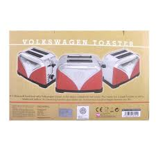 Logo Toaster Official Volkswagen Camper Van Stainless Steel Electric 2 Slice