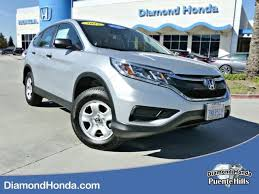 honda crv used certified used certified one owner 2015 honda cr v lx city of industry ca