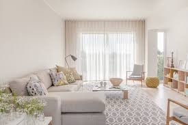 Floor To Ceiling Curtains Floor To Ceiling Curtains Living Room Transitional With Faux Fur