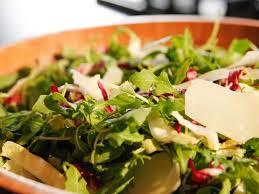 Barefoot Contessa Arugula Salad | arugula radicchio and parmesan salad recipe ina garten food