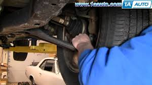 lexus es330 wheel bearing noise how to diagnose or detect a loose or worn ball joint in the front