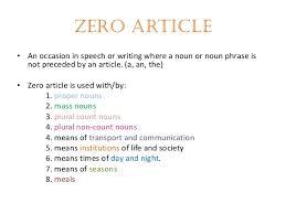articles u0026 determiners