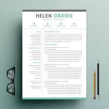 Two Column Resume Download One Page Resume Haadyaooverbayresort Com