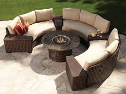 outdoor sectional furniture plans curved outdoor sectional