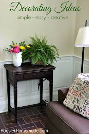 Decorating Ideas For Your Home Hoosier Homemade