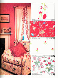 Laura Ashley  Home Furnishings Catalogue Harebell - Poppy wallpaper home interior
