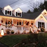 Christmas Porch Railing Decorations by Astounding Images Of Large Outdoor Lighted Christmas Wreath For