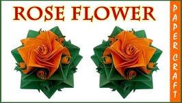 Origami 3d Flower Vase How To Make Flower Vase With Paper Origami Paper Flower Vase Video