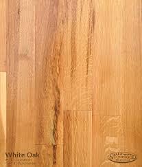rift and quartered white oak flooring