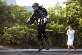 stubhub halloween horror nights this man is flying the iron man type jet pack he made ahead of